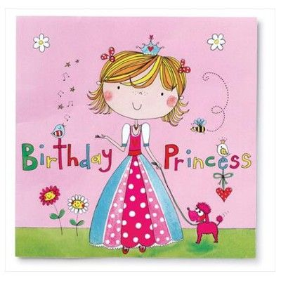 Kalasservetter - Birthday Princess - 20 st