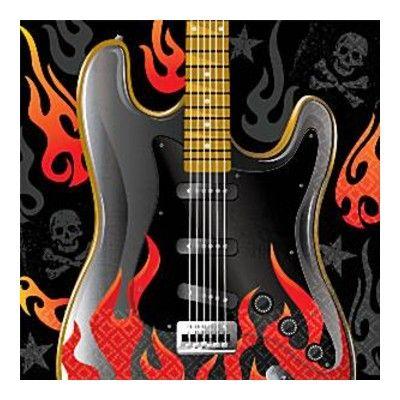 Kalasservetter - rock - 16 st