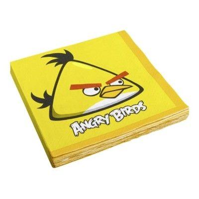 Kalasservetter - Angry birds - 16 st