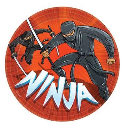 Kalastallrikar - ninja - 8 st