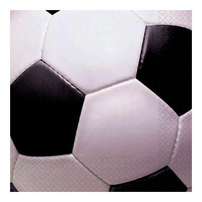 Kalasservetter - fotboll - 16 st