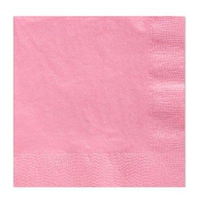 Kalasservetter - rosa - 20 st