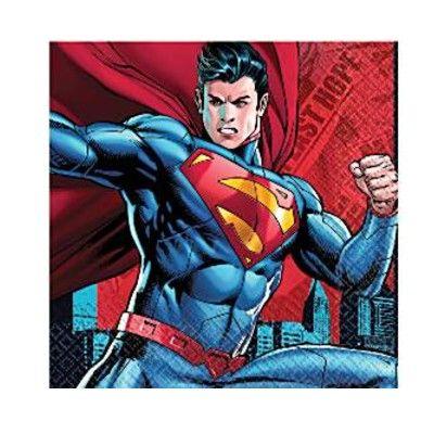 Kalasservetter - Superman - 16 st