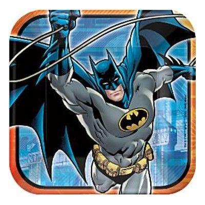 Kalastallrikar - Batman - 8 st