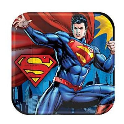Kalastallrikar - Superman - 8 st