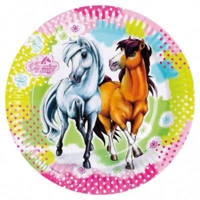 Kalastallrikar - hästar - 8 st