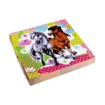 Kalasservetter - hästar - 20 st