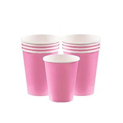 Kalasmuggar - rosa - 8 st