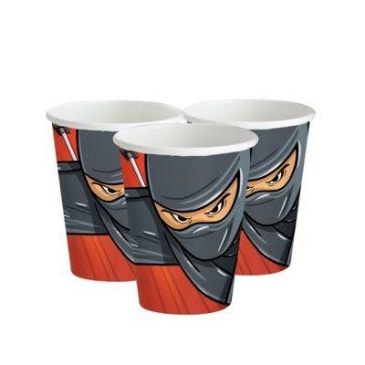 Kalasmuggar - ninja - 8 st