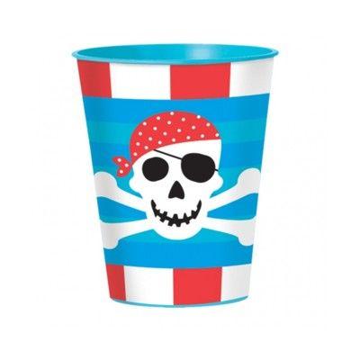 Kalasmuggar - piratskatten - 8 st