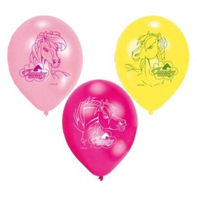 Ballonger - hästar - 6 st