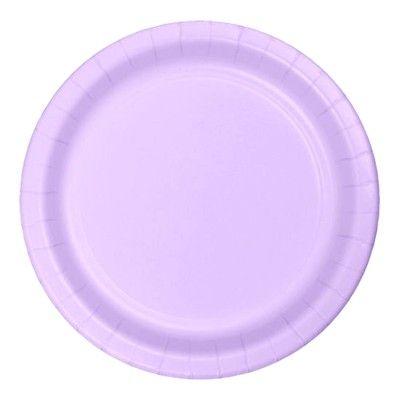 Kalastallrikar - ljus lavendel - 20 st