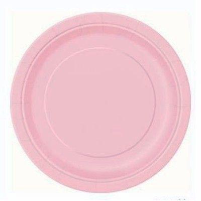 Kalastallrikar - rosa - 20 st