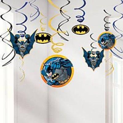 Hängande spiraler - Batman