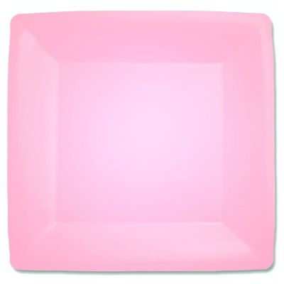 Kalastallrikar - rosa kvadrat - 20 st