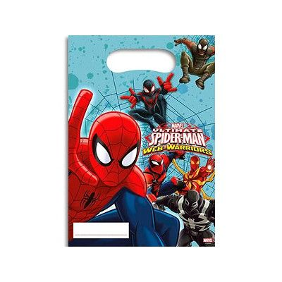 Godispåsar - Spiderman - 6 st
