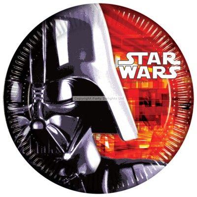 Kalastallrikar - Star Wars - 8 st
