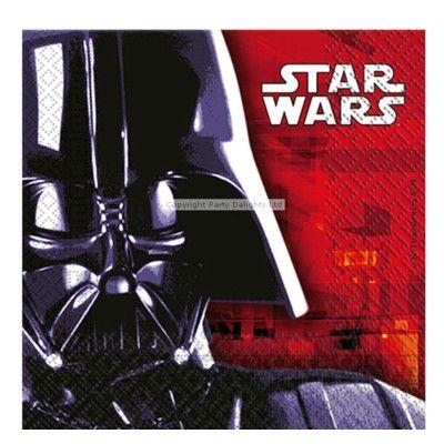 Kalasservetter - Star Wars - 20 st