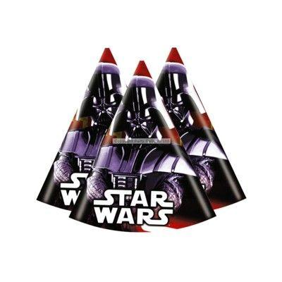 Partyhattar - Star Wars - 6  st