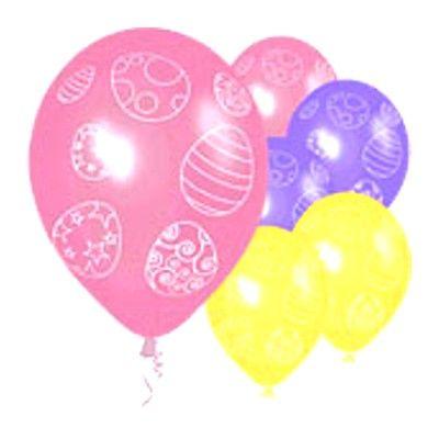 Ballonger - Påskägg - 6 st
