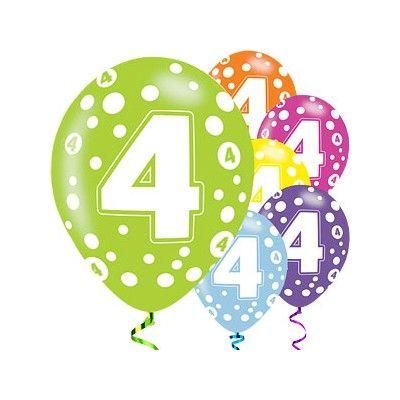 Ballonger - 4 år - 6 st