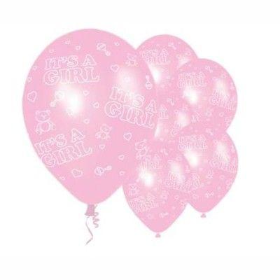Ballonger - rosa - it's a girl