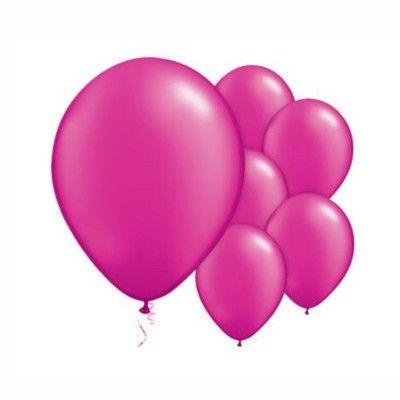 Ballonger - cerise metallic - 10 st