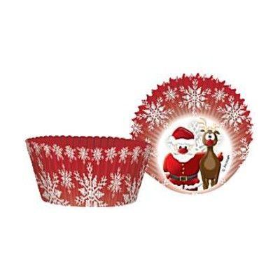 Muffinsformar - Rudolf & jultomten - 50 st