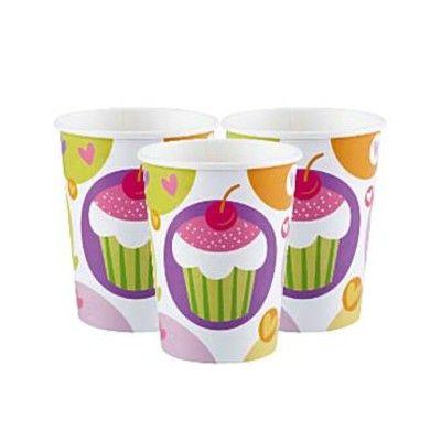Kalasmuggar - cupcakes - 8 st