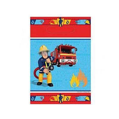Godispåsar - brandman - 8 st