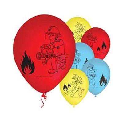Ballonger - brandman - 6 st