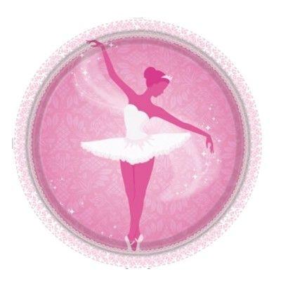Kalastallrikar - ballerina - 8 st