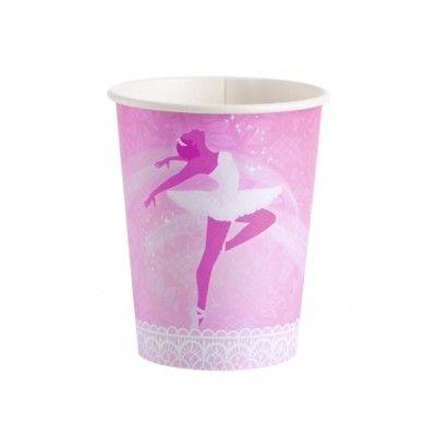 Kalasmuggar - ballerina - 8 st