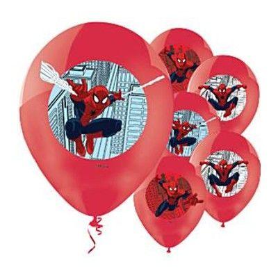 Ballonger - Spiderman - 6 st
