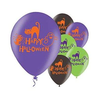 Ballonger - Happy Halloween - 6 st