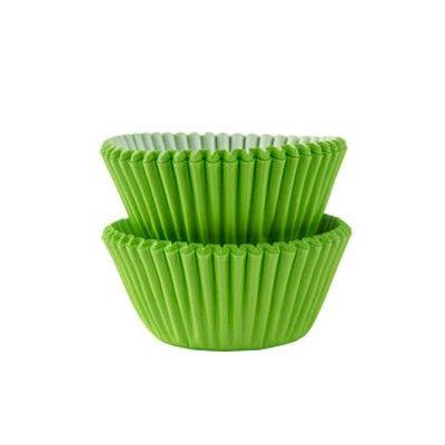 Muffinsformar - mini - lime - 100 st