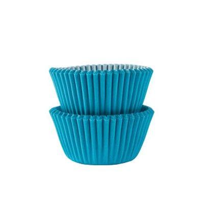 Muffinsformar - mini - turkos - 100 st