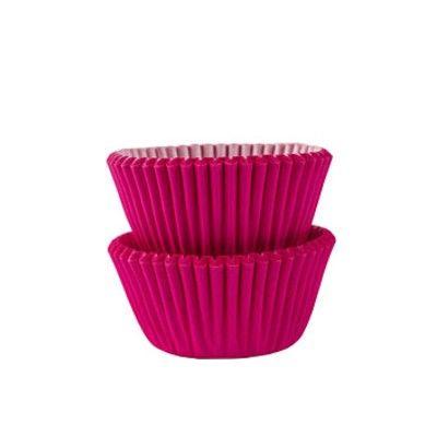 Muffinsformar - mini - cerise - 100 st