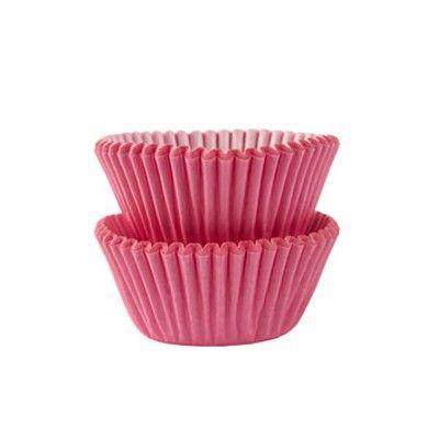 Muffinsformar - mini - rosa - 100 st