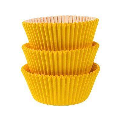 Muffinsformar - gul - 75 st