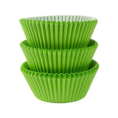 Muffinsformar - lime - 75 st