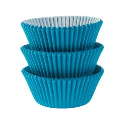 Muffinsformar - turkos - 75 st