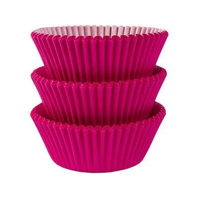 Muffinsformar - cerise - 75 st