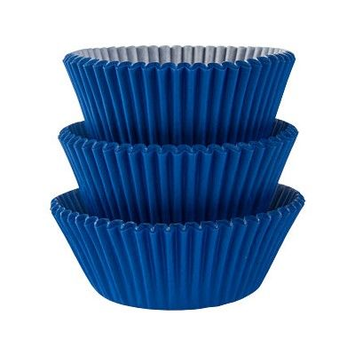 Muffinsformar - blå - 75 st