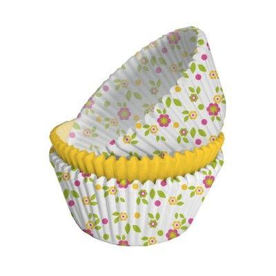 Muffinsformar - blommor - 75 st
