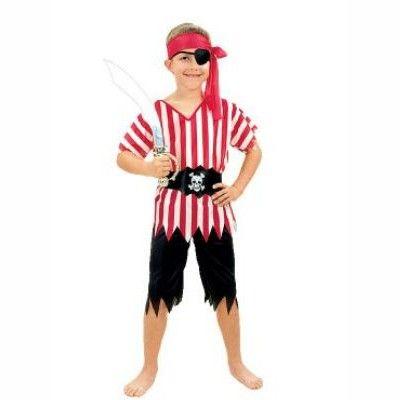 Pirat - maskeradkostym, 4-6 år