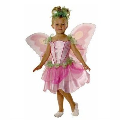 Fairy - klänning, vingar, hårband, 5-7 år