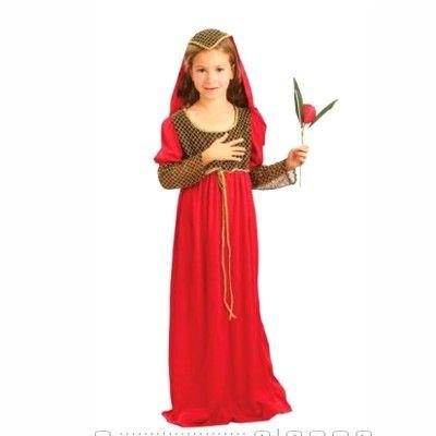 Medeltidsprinsessa - Julia, 7-8 år