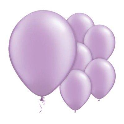 Ballonger - lavendel - 10 st