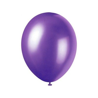 Ballonger - lila - 10 st